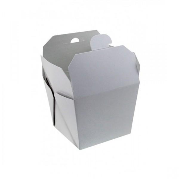 Коробка для WOK белая, 700 мл, 85*85*82,5 мм (25 шт/уп)