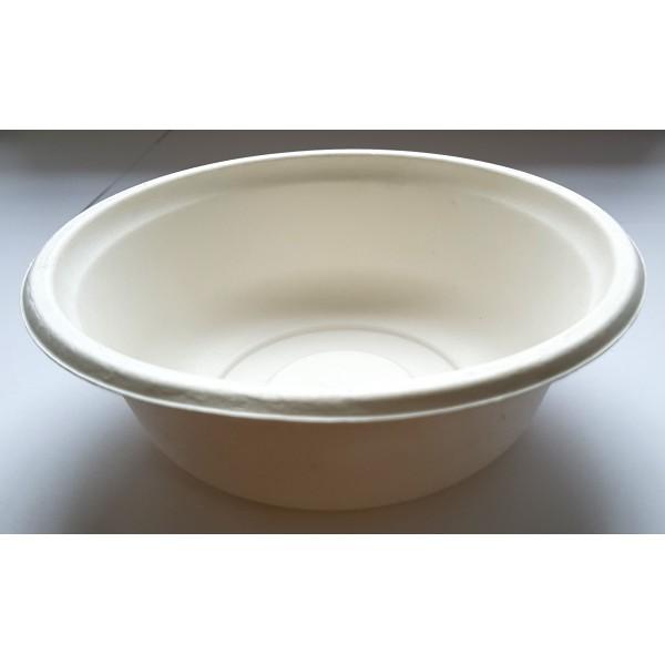 Биоразлагаемая глубокая тарелка Ekola 500 мл (125 шт/уп)