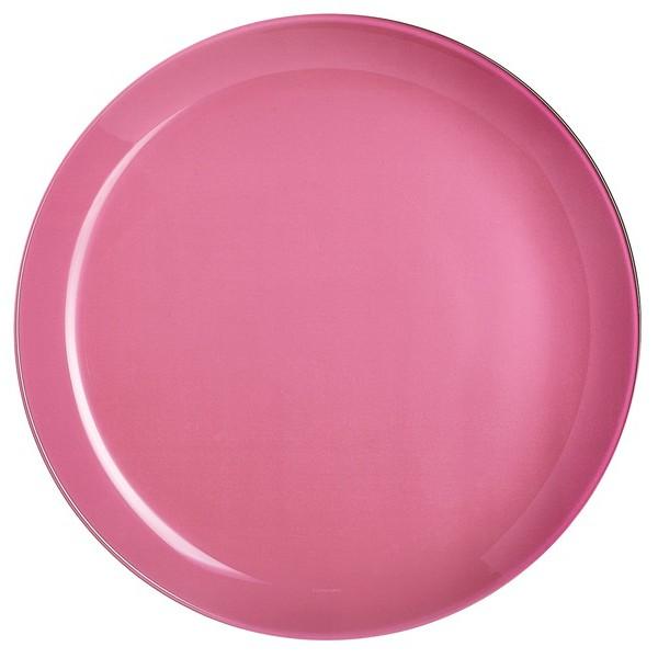 Обеденная тарелка розовая ARTY ROSE, 26 см