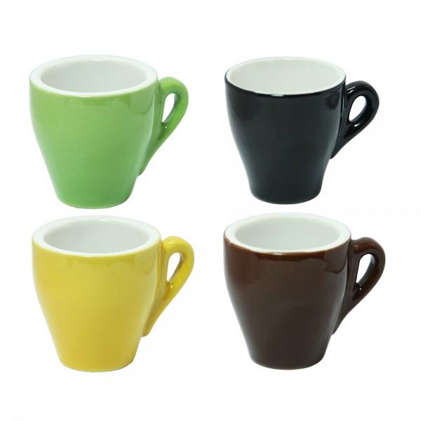 Кофейная чашка 100 мл (разные цвета)