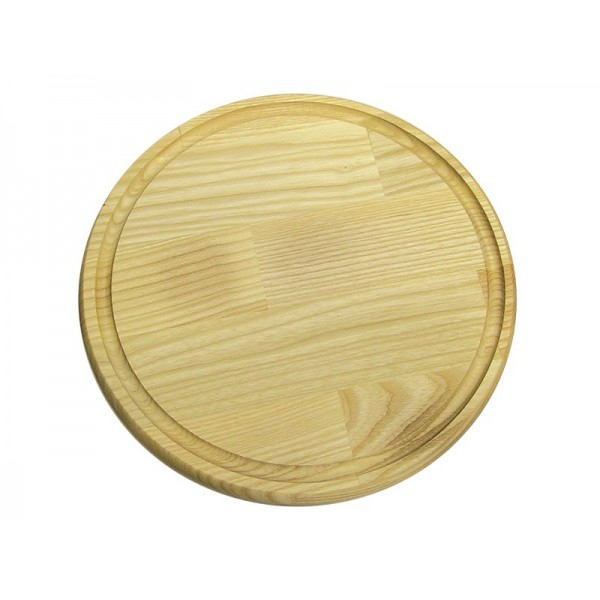 Доска для подачи с желобом 25 см, ясень