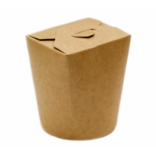 Крафтовая коробка для лапши 950 мл (50 шт/уп)