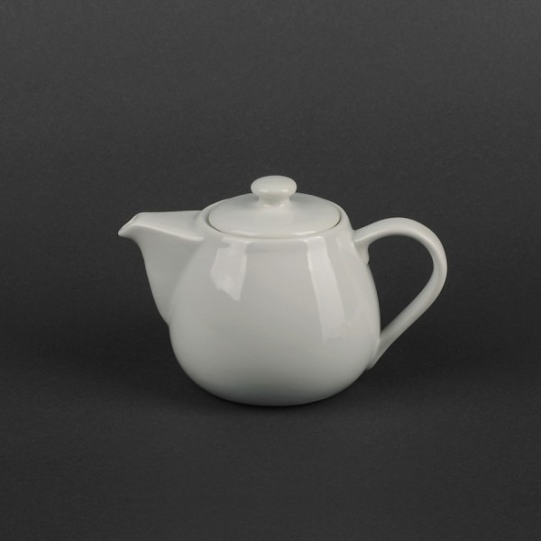 Чайник керамический белый 300 мл