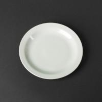 Тарелка закусочная в оправе, 17 см
