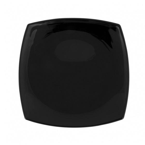 Тарелка квадратная черная LUMINARC QUADRATO BLACK 19 см