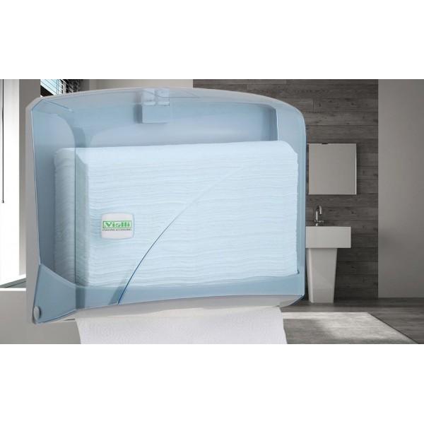 Держатель для бумажных полотенец Z-сложения прозрачный