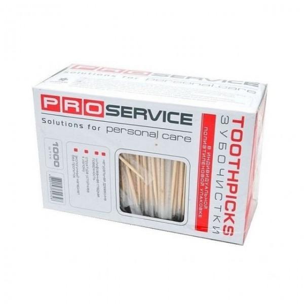 Зубочистки с инд. упак. PRO (1000 шт/уп)