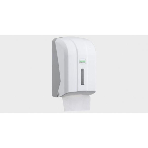 Держатель листовой туалетной бумаги Vialli белый