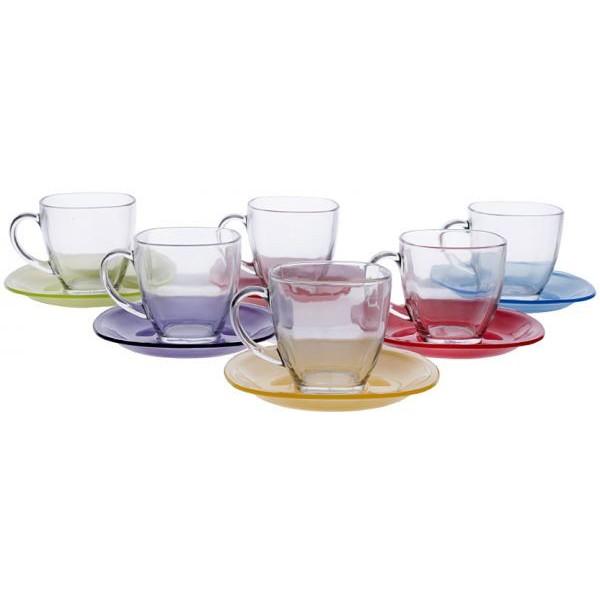 Чайный набор Carina Rainbow (6+6)