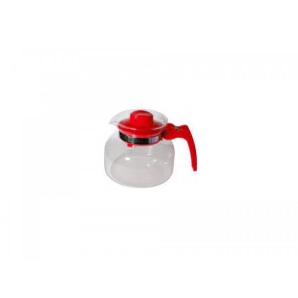 Стеклянный чайник с пластиковым заварником Maja, 1.5 л