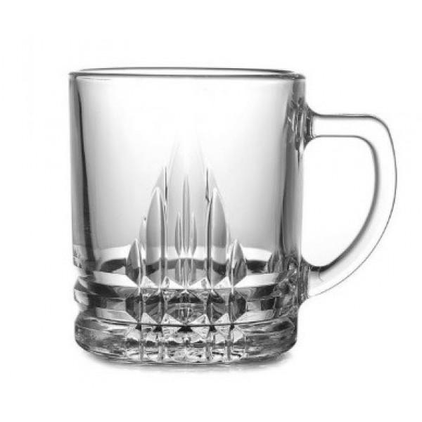 Стеклянная чашка для чая Венеция, ОСЗ 280мл