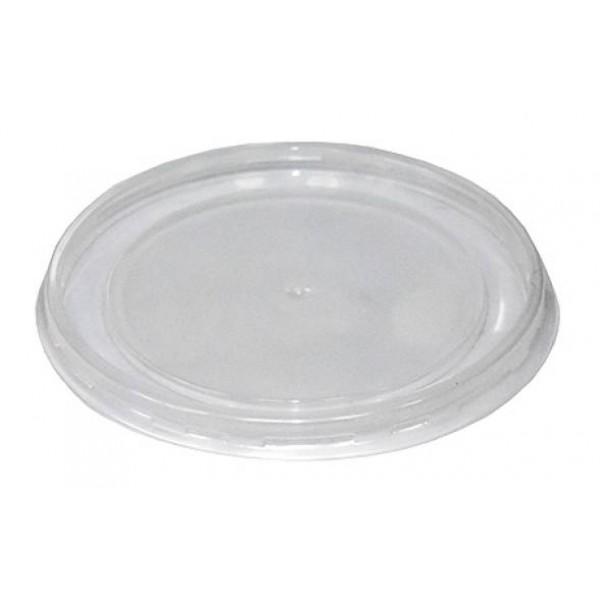Крышка для супницы 750/950 мл (117 мм) пластик 25 шт/уп