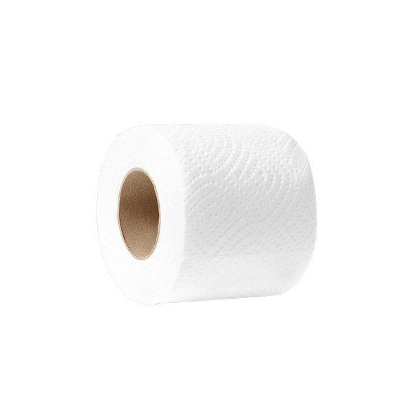 Туалетная бумага на гильзе 2-х слойная Papero (12.5м х 8 рул)