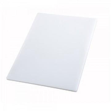 Профессиональная разделочная доска белая, 32,5х26х2 см