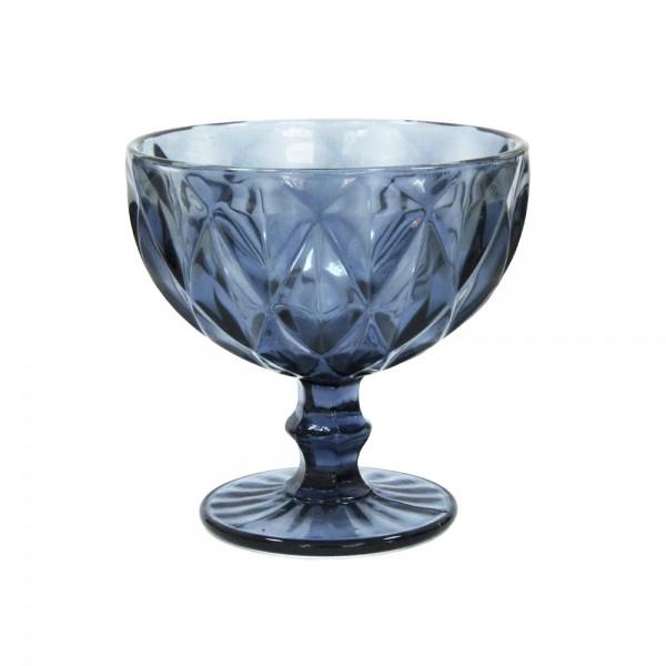 Креманка Изумруд синяя, 300 мл