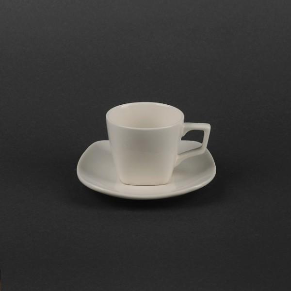 Кофейный набор керамика: чашка 80 мл с блюдцем