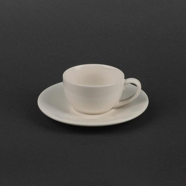 Кофейный набор чашка 80 мл с блюдцем, керамика