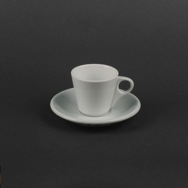 Кофейный набор: чашка 90 мл с блюдцем, керамика