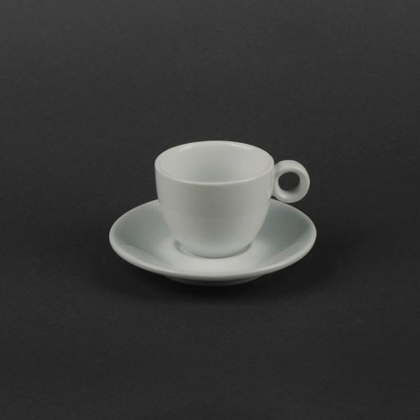 Кофейный набор на 2 предмета - чашка 80 мл с блюдцем