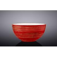 Салатник Wilmax SPIRAL RED d10,5см/V250мл