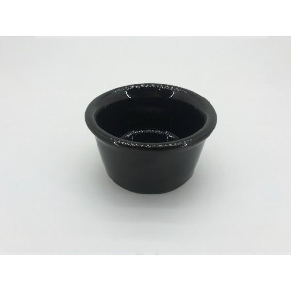 Соусник керамический черный 100 мл