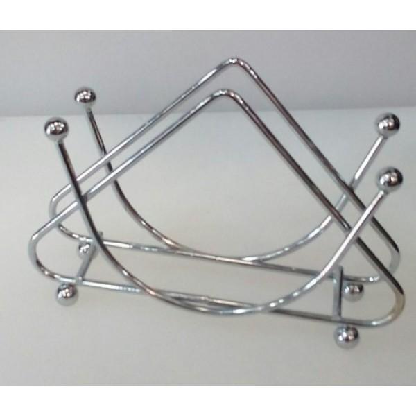 Салфетница нержавеющая сталь 12.5х3 см