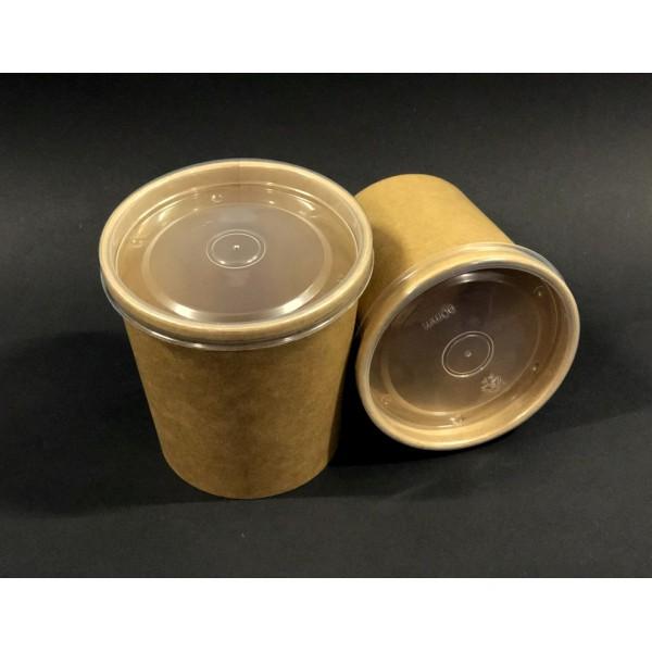 Крышка для супницы 470 мл (97 мм) пластик (25 шт/уп)