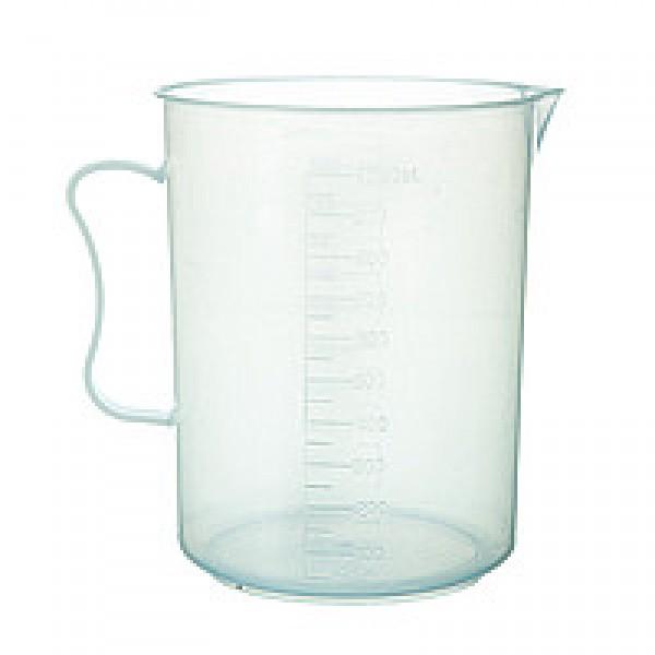 Мерный стакан с ручкой полипропилен, 1000 мл