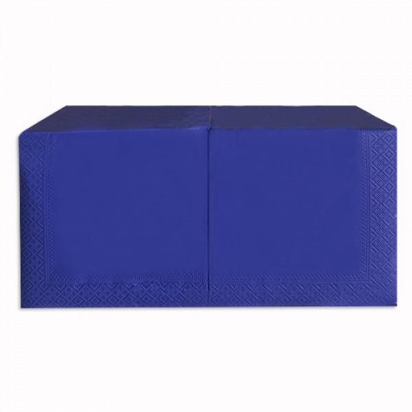 Салфетка 2-х слойная 33х33 см синяя (250шт/уп)