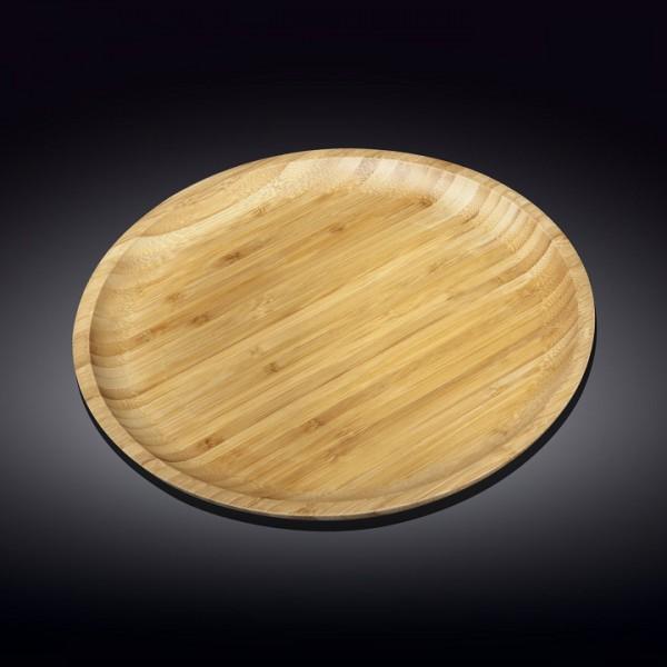 Блюдо круглое бамбук Wilmax 20,5 см