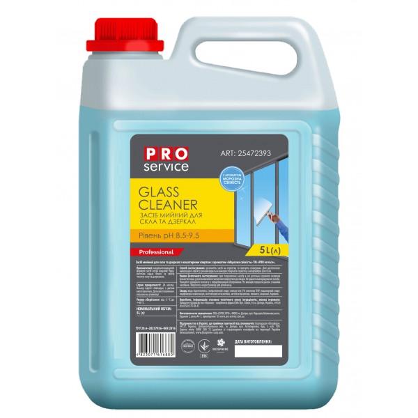 PRO Средство для мытья стекла Морозная Свежесть, 5л