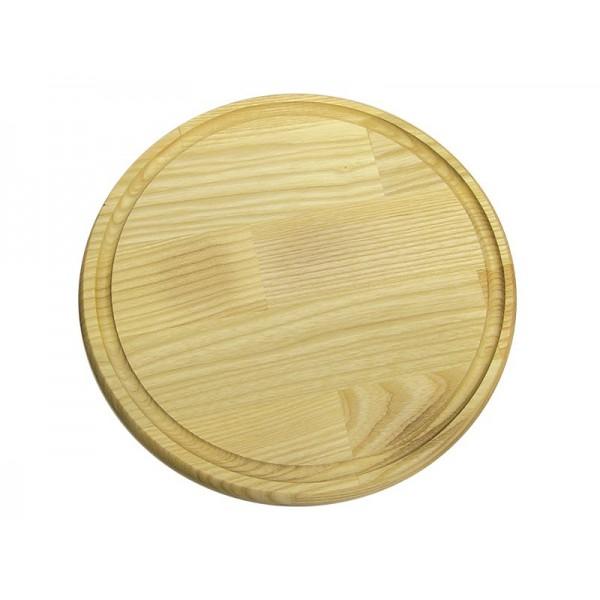 Доска для подачи с желобом 32 см, ясень