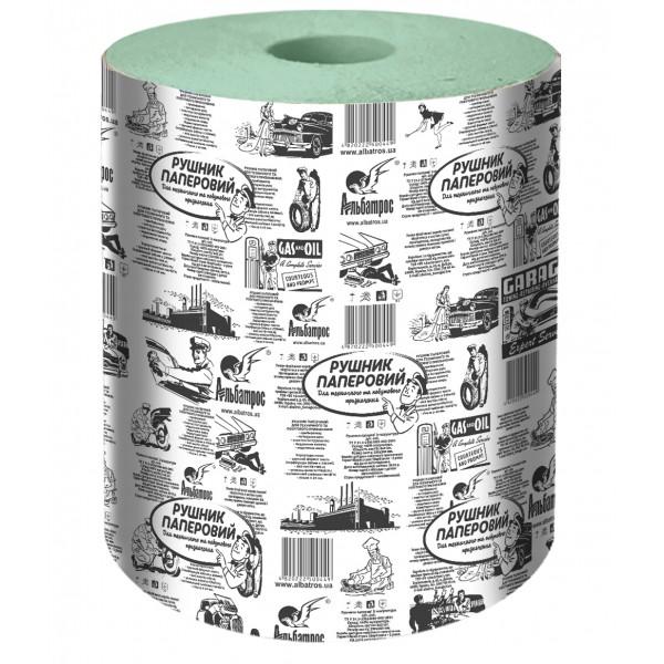 Полотенце для протирки зеленое L-180 м (640 листов)