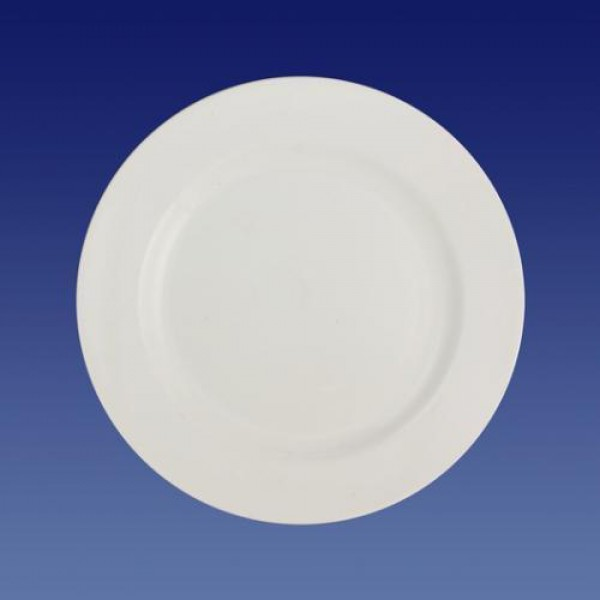 Тарелка фарфоровая плоская, 200 мм