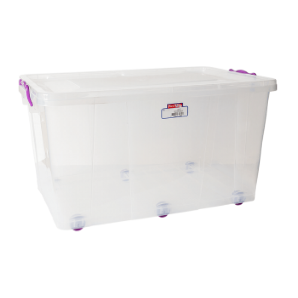 Контейнер для хранения пищевых продуктов на колесах 50 л