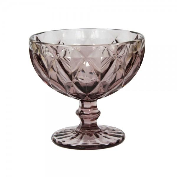 Креманка Изумруд розовая, 250 мл