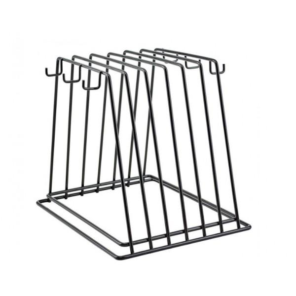 Держатель металлический на 6 досок с виниловым покрытием (Winco CB-6K)