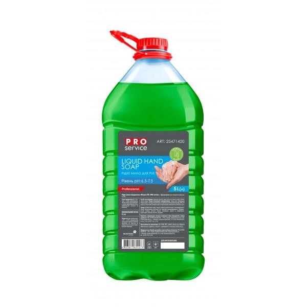 PRO Жидкое мыло глицериновое, яблоко, 5л