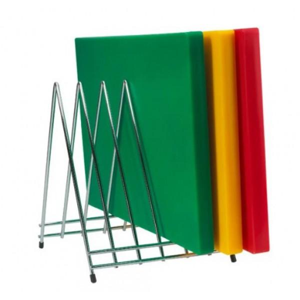 Подставка для досок нержавеющая сталь 32,5х24х25,5 см