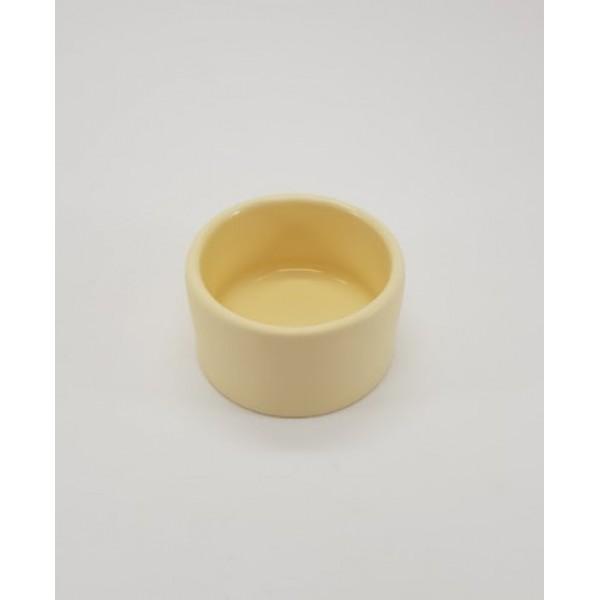 Соусник керамический высокий, 75 мл, d-6 см, h-4 см,белый