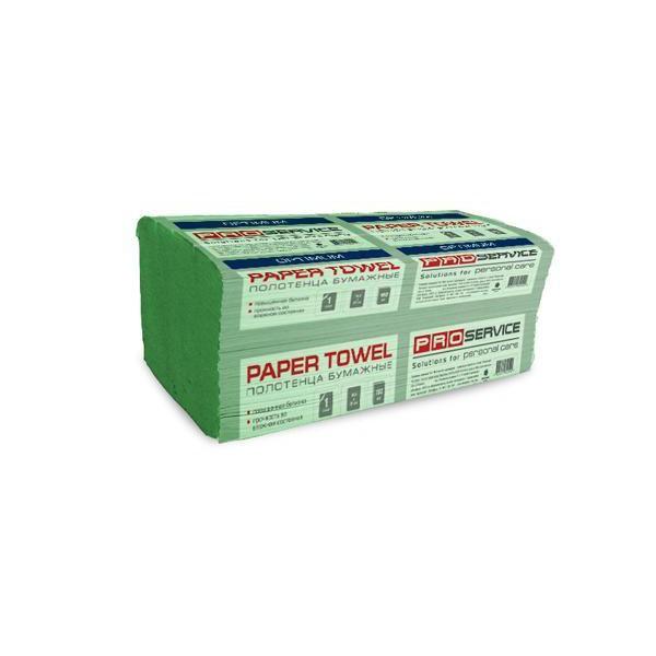 PROservice OPTIMUM Бумажное полотенце V-скл. Однослойное 160 шт. Зеленые.