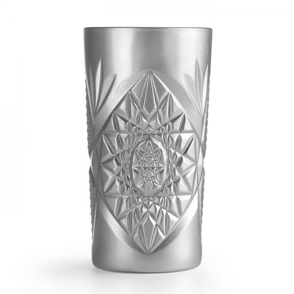 Стакан высокий серебро Cooler Hobstar Silver 470 мл