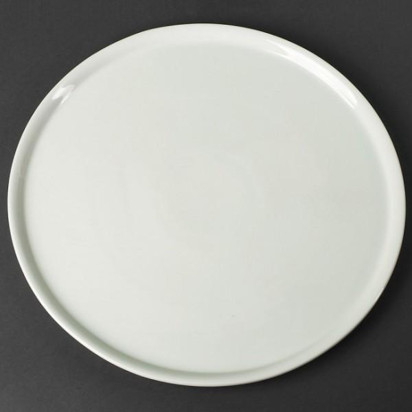 Тарелка для пиццы бортовая, 28 см