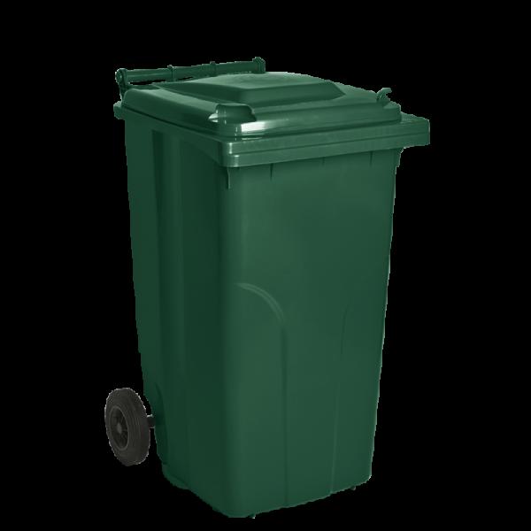 Бак для мусора на колесах 120 л