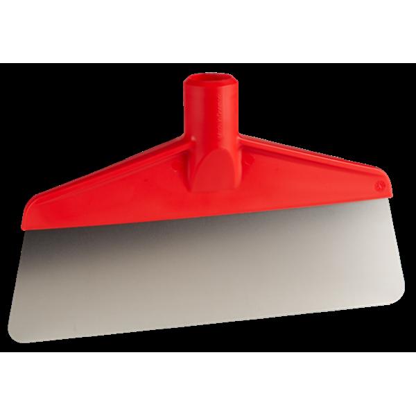 Скребок кухонный широкий 26 см красная ручка