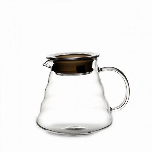 Стеклянный чайник с крышкой 600 мл