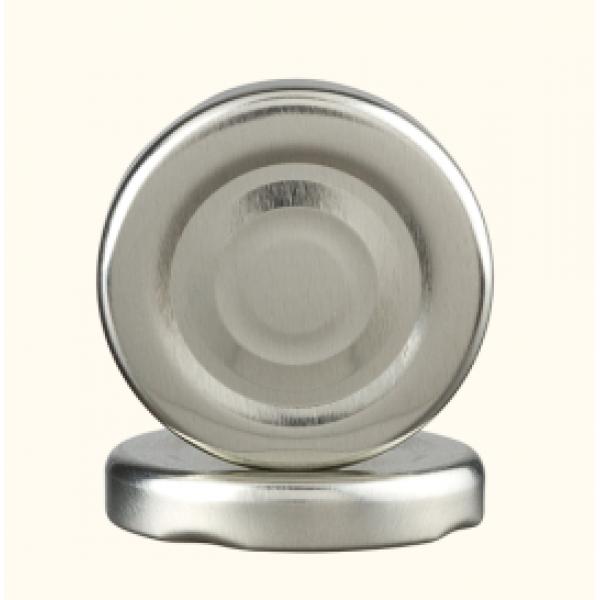 Крышка к бутылке для сока серебро ТО 38