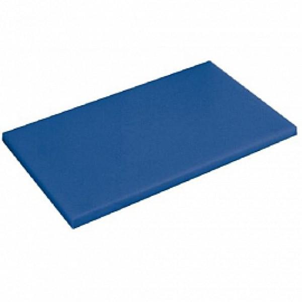 Профессиональная разделочная доска синяя, 32,5х26х2 см