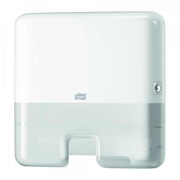 Tork диспенсер для листовых полотенец Mini, Multifold. Белый