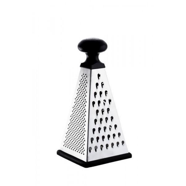 Терка-пирамидка 4-х гранная нержавеющая сталь 23 см
